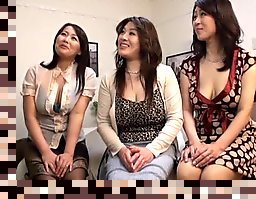 japanese group handjob